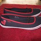 Punkrose / Shattered Black & Red Casual Flats 8