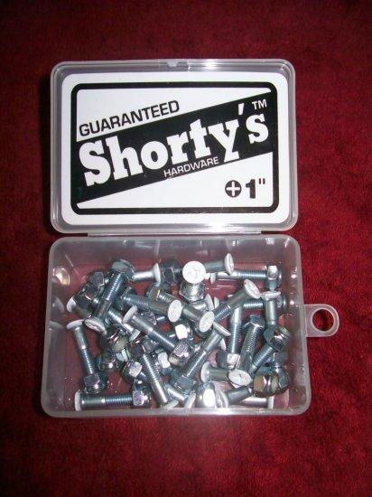 "Shorty's 1"" Phillips Hardware - Boxed Set of 28 - White"