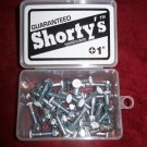 "Shorty's 1"" Phillips Hardware - Boxed Set of 28 - White"
