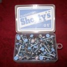 "Shorty's 1"" Phillips Hardware - Boxed Set of 65 Lt Blue"