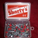 "Shorty's 1"" Phillips Hardware - Boxed Set of 35 - Red"