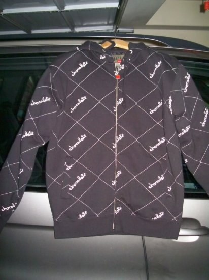 CHOCOLATE Chunk Quilted Jacket - Black - Small