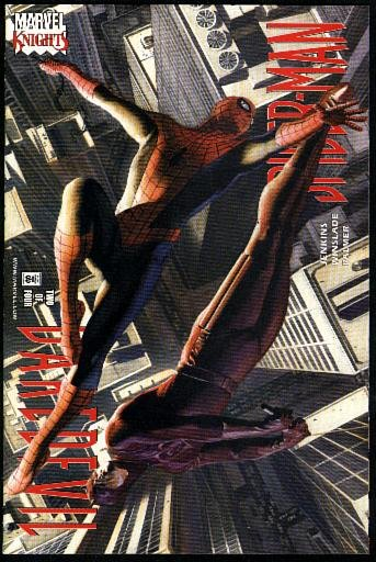 Daredevil/Spider-Man #s 1-4 (2001, Marvel Knights)