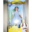 "WIzard of Oz Dorothy Porcelain Doll 7"" by brass key"
