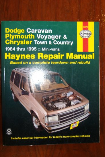 Chrysler Voyager 1995 Owners Manual