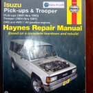 Isuzu Pick-ups 1981 - 1993 Isuzu Trooper 1984-1991 Haynes Auto Repair Manual