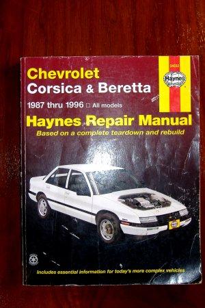 1987 - 1996 Chevrolet Corsica & Beretta Haynes Auto Repair Manual