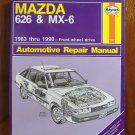 1983-1990 Mazda 626 & MX-6 Haynes Repair Manual