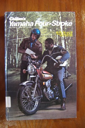1970-1974 Chiltons Yamaha Four-Stroke All 500 650 & 750 Models Repair  & Tune Up Guide