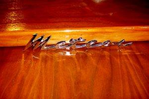 1964 Mercury Meteor Emblem Chrome Factory OEM