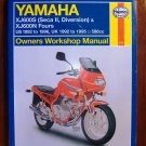 Yamaha XJ600S Seca II Diversion & XJ600N Fours US 1992-96 UK 1992-95 598cc