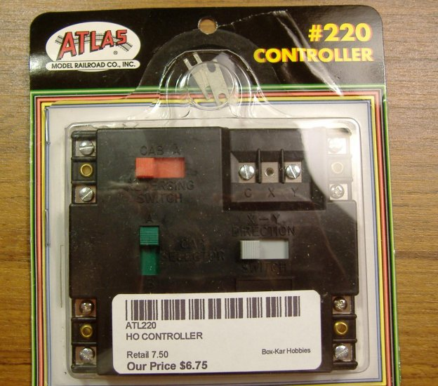 Atlas Model Railroad Co. Inc. #220 HO Controller ATL220