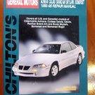 85-95 Oldsmobile Achieva Cutlass Calais Pontiac Grand Am  Buick Skylark Somerset Regal Chiltons