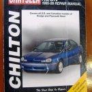 95-99 Dodge & Plymouth Neon Chilton's Repair Manual