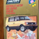 85-90 Chevrolet Astro & GMC Safari Chiltons Repair Manual