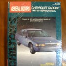 90-93 Chevy Chevrolete Caprice Chiltons Manual