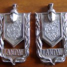 74 75 Monte Carlo Landau Roof Pillar Emblems