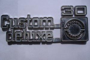 70's Chevy Truck 1 ton Fender Emblem 30