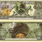 DRAGON'S LAIR FIRE BREATH ONE MILLION DOLLAR BILLS x 4