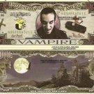 VAMPIRE ONE MILLION DOLLAR BILLS x 4 HALLOWEEN GIFT NEW
