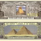 EGYPT GIFT OF THE NILE GIZA MILLION DOLLAR BILLS x 2