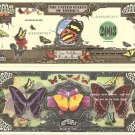 BUTTERFLIES ENCHANTED BUTTERFLY MILLION DOLLAR BILLS x4