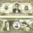 JAMES DEAN REBEL WITHOUT A CAUSE DOLLAR BILLS x 4 NEW