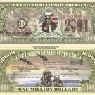 AMERICAN VETERANS OF WAR ONE MILLION DOLLAR BILLS x 4