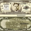 PRETTY BOY FLOYD WANTED $100,000 DOLLAR BILLS x 4 NEW