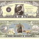 UTAH THE BEEHIVE STATE 1896 DOLLAR BILLS x 4 UT