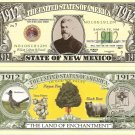 NEW MEXICO LAND OF ENCHANTMENT 1912 DOLLAR BILLS x 4 NM