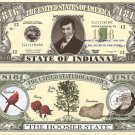 INDIANA THE HOOSIER STATE 1816 DOLLAR BILLS x 4 IN