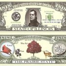 ILLINOIS THE PRAIRIE STATE 1818 DOLLAR BILLS x 4 IL