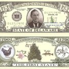 DELAWARE THE FIRST STATE 1787 DOLLAR BILLS x 4 DE