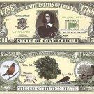 CONNECTICUT CONSTITUTION STATE 1788 DOLLAR BILLS x 4 CT