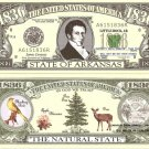 ARKANSAS THE NATURAL STATE 1836 DOLLAR BILLS x 4 AR