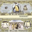 PENGUIN CHILLY WILLY ONE MILLION DOLLAR BILLS x 4 NEW