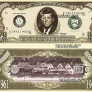 35th PRESIDENT JOHN F KENNEDY MILLION DOLLAR BILLS x 4