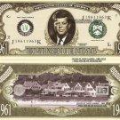 35th PRESIDENT JOHN F KENNEDY MILLION DOLLAR BILLS x 4