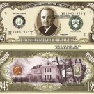 33rd PRESIDENT HARRY S TRUMAN MILLION DOLLAR BILLS x 4