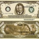 26th PRESIDENT THEODORE ROOSEVELT DOLLAR BILLS x 4