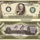 19th PRESIDENT RUTHERFORD B HAYES DOLLAR BILLS x 4