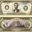 16th PRESIDENT ABRAHAM LINCOLN MILLION DOLLAR BILLS x 4