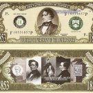 14th PRESIDENT FRANKLIN PIERCE MILLION DOLLAR BILLS x 4