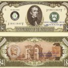 10th PRESIDENT JOHN TYLER ONE MILLION DOLLAR BILLS x 4