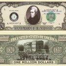 7th PRESIDENT ANDREW JACKSON MILLION DOLLAR BILLS x 4