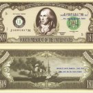 4th PRESIDENT JAMES MADISON MILLION DOLLAR BILLS x 4
