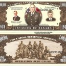 INVASION OF PANAMA 1989 JUST CAUSE DOLLAR BILLS x 4