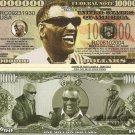 RAY CHARLES ROBINSON ONE MILLION DOLLAR BILLS x 4 NEW