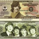 RINGO STARR THE BEATLES MILLION DOLLAR BILLS x 4 NEW